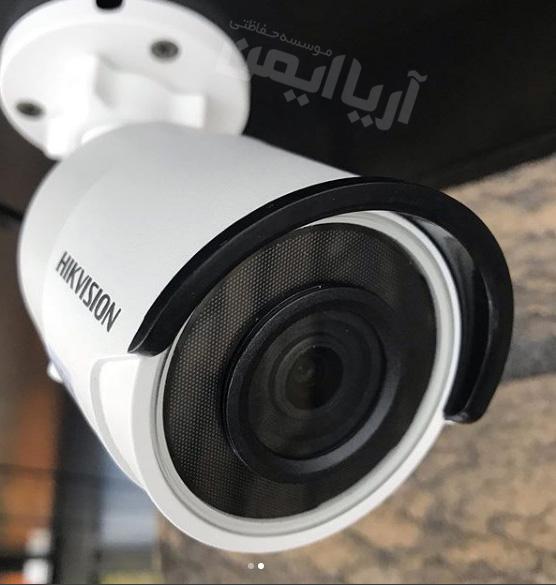 نصب و اجرای دوربین مداربسته هایک ویژن در محمودآباد